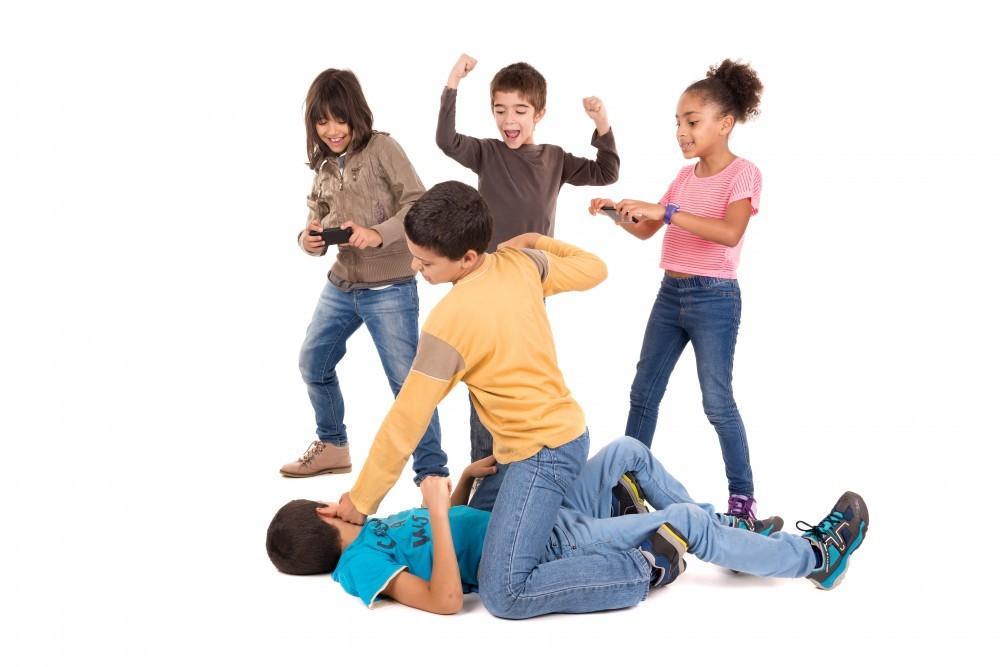 Kid\'s fight