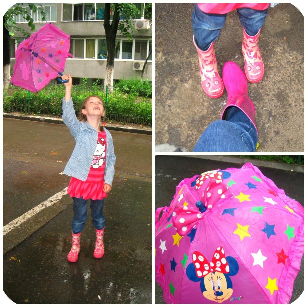 zi cu ploaie