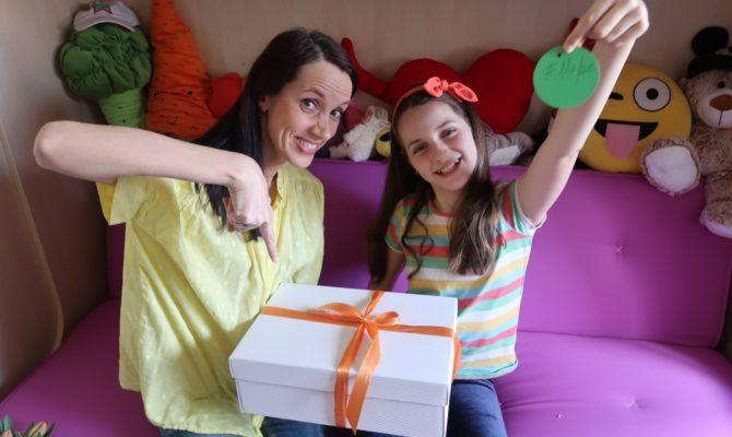 Cutia cu provocări – un cadou surpriză pentru ziua de naștere