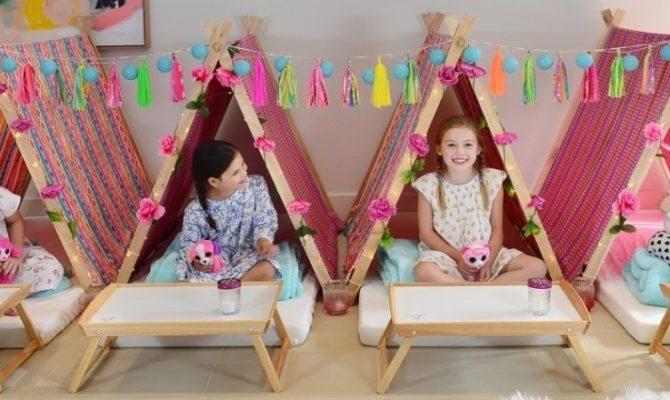 Cum să organizezi o petrecere în pijamale pentru copii