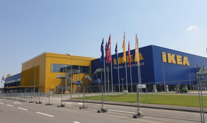 Primele imagini de la Magazinul IKEA Pallady
