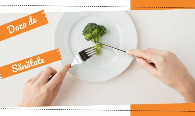Doza de Sănătate – Reguli pentru porțiile de mâncare
