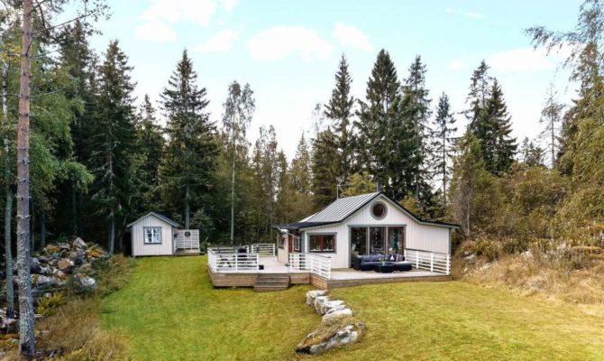 Cabană de vacanță în Suedia, pe o mică insulă