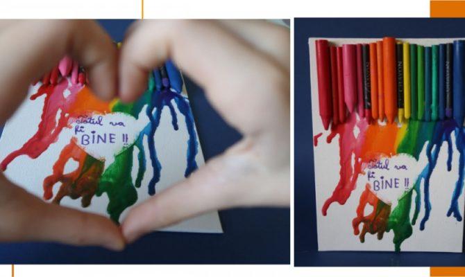 DIY Tablou din Creioane Cerate – Ideea de la Ora 5