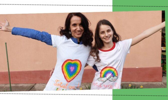 Tricouri Pictate #Totul Va Fi Bine – Ideea de la Ora 5