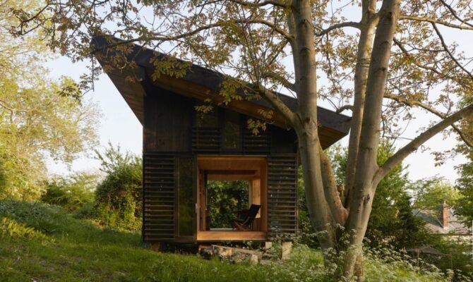 O căsuță de weekend, în Franța, în mijlocul naturii