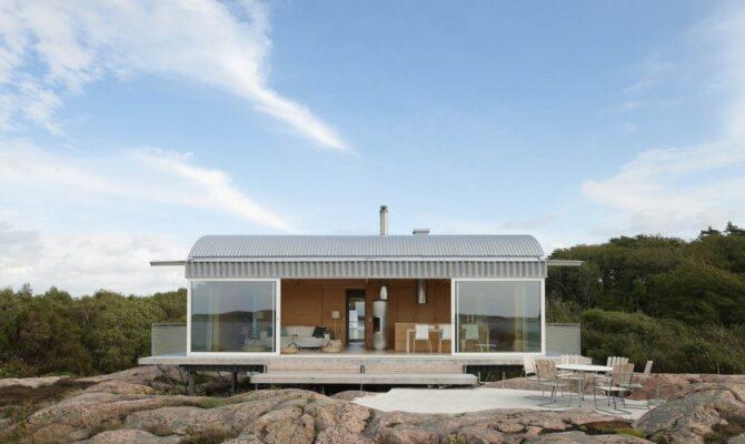 Casă de vacanță în Suedia, cu vedere panoramică