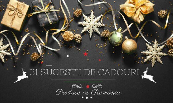 31 Sugestii de Cadouri de Crăciun, pentru adulți. Made in România