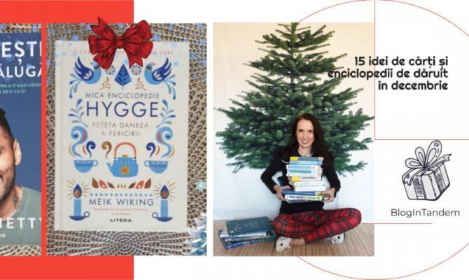15 cărți și enciclopedii – Perfecte pe post de cadou de Crăciun