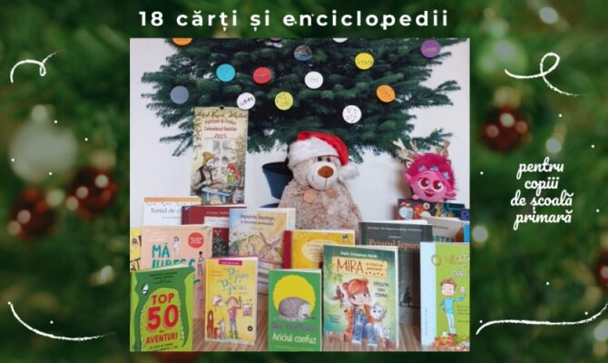 18 Enciclopedii & Cărți pentru copiii de școală primară, perfecte de Crăciun