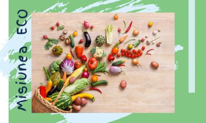 Misiunea ECO: Citește etichetele pentru a alege produse sustenabile