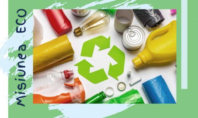 Misiunea ECO: Colectarea & Reciclarea PLASTICULUI