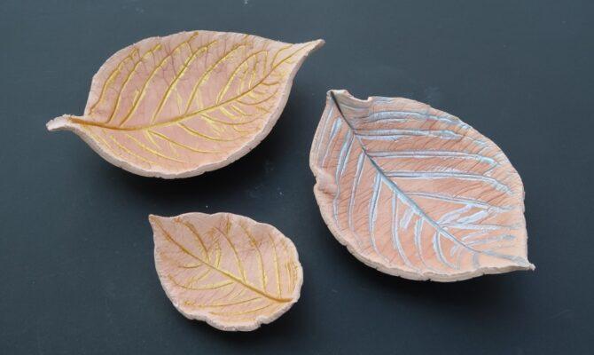 DIY – Frunze decorative din lut cu uscare rapidă