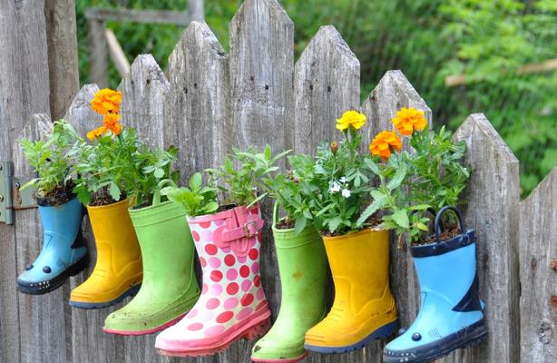 23 de imagini cu cizme pline de flori. Fara ploaie!