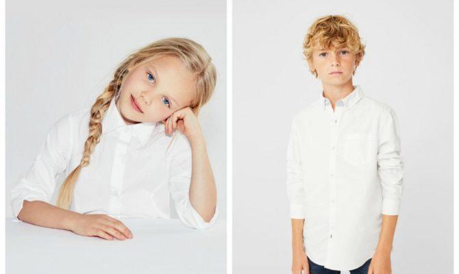 De unde se pot cumpăra cămăși albe pentru școală?