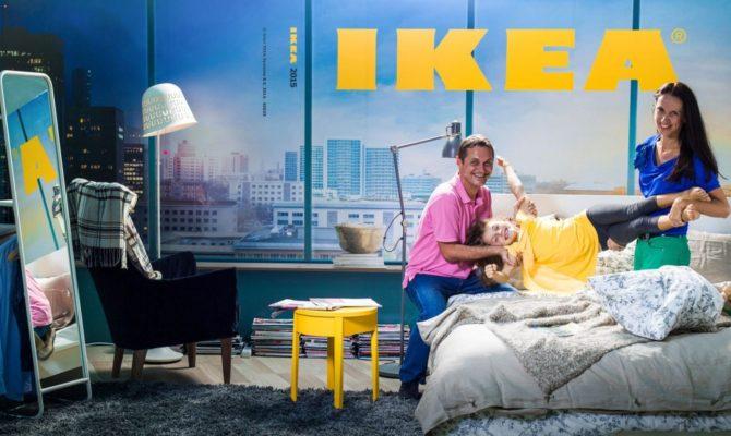 Suntem pe coperta catalogului IKEA 2015