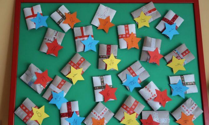 DIY – Calendar Advent cu surprize, pentru luna decembrie