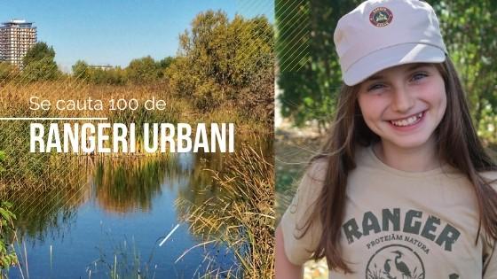 Se caută 100 de RANGERI URBANI pentru Parcul Natural Văcărești