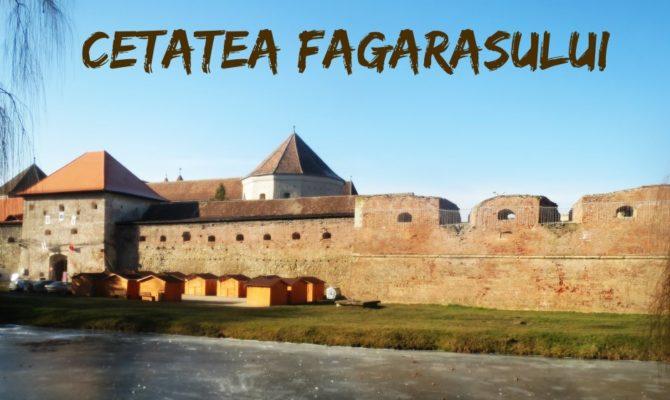Tandem Hai Hui. Cetatea Fagarasului in haine de iarna