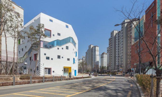 O gradinita inflorita in Seoul