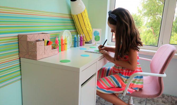 Cum i-am ales Emei birou și scaun de birou pentru noul an școlar