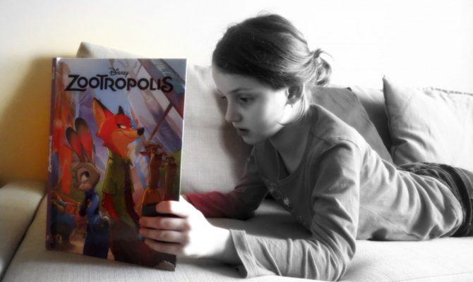 Carti la 8 ani: Zootropolis, Cartea Filmului