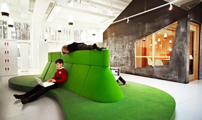 Cum arata o scoala in Suedia? Copiii invata in spatii fara pereti