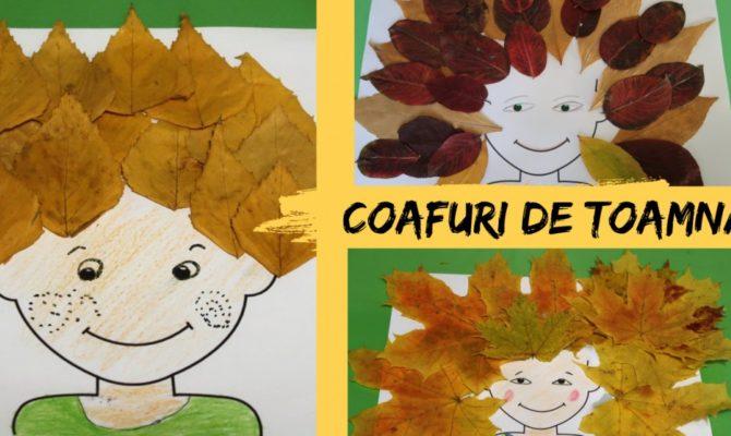 DIY – Proiect de toamnă: Coafuri din frunze