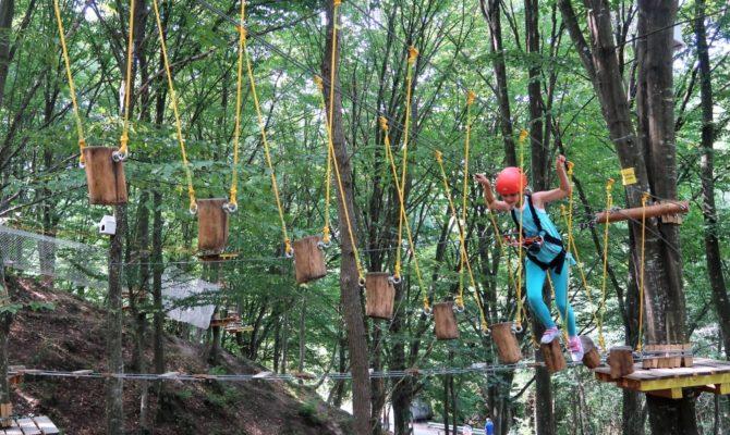 Parcul de cățărări Escapada din Monteoru, Buzău
