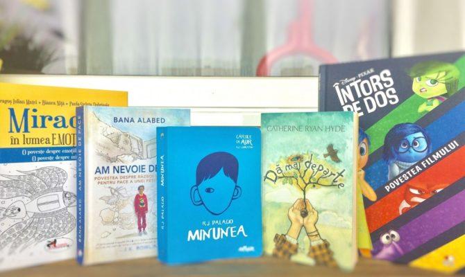 5 cărți educative, cu mesaje puternice