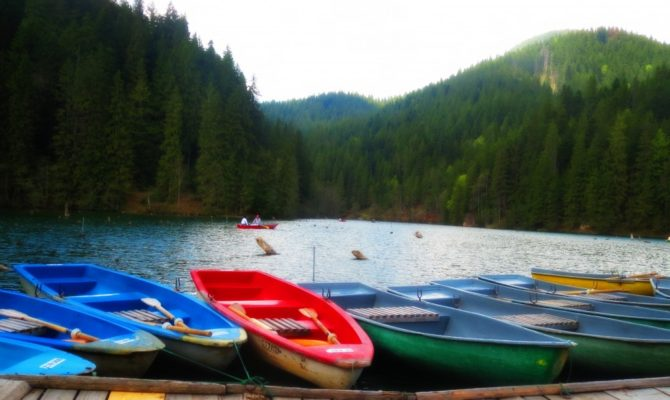 Traseu de weekend: Salina Praid, Lacul Rosu, Cheile Bicazului