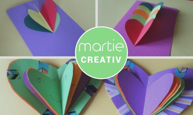 DIY – 3 modele de felicitări pentru luna martie