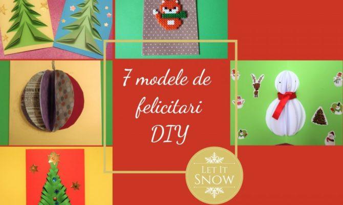 7 modele de felicitări de Crăciun – DIY