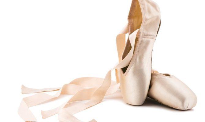 Primul ei spectacol de balet
