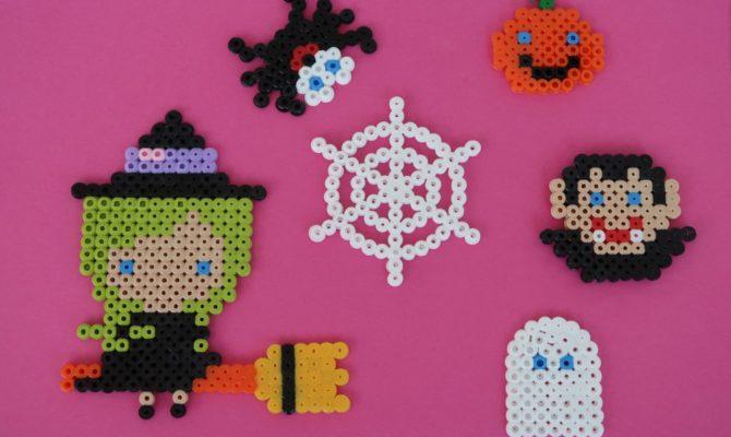 DIY – Decorațiuni de Halloween din mărgele termoadezive