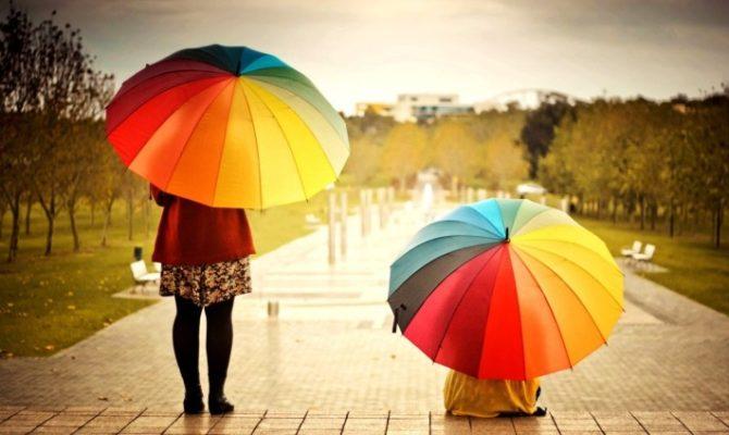 13 modele creative de umbrele