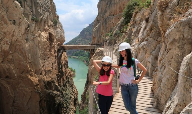 Drumeție pe Caminito del Rey sau Drumul Regelui