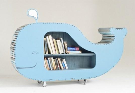 Idei originale de rafturi si biblioteci pentru copii