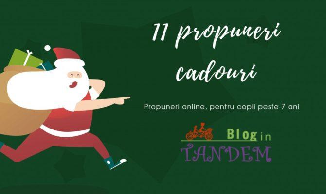 11 propuneri de cadouri, pentru copii peste 7 ani