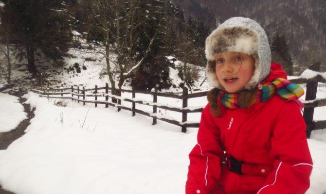 Prima zapada din iarna asta