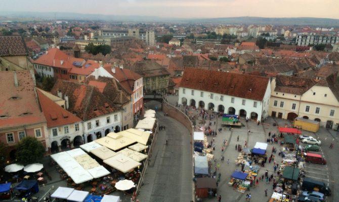 City break in Sibiu. Weekend in 21 de poze colorate